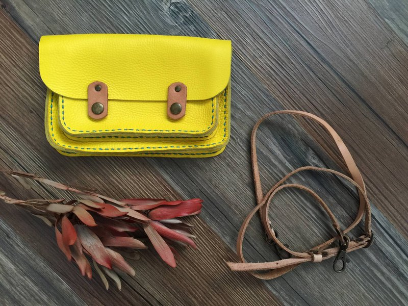 Nora Bright Yellow Small Cambridge Bag