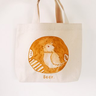 Customized | Hand-painted small tote bag