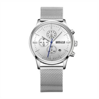 BAOGELA - STELVIO Silver Dial / Milan Watch Adjustable Watch