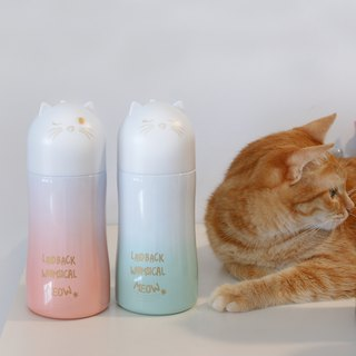 [DESTINO STYLE] Japan Miya cat thermos bottle cold bottle company goods cat slave must