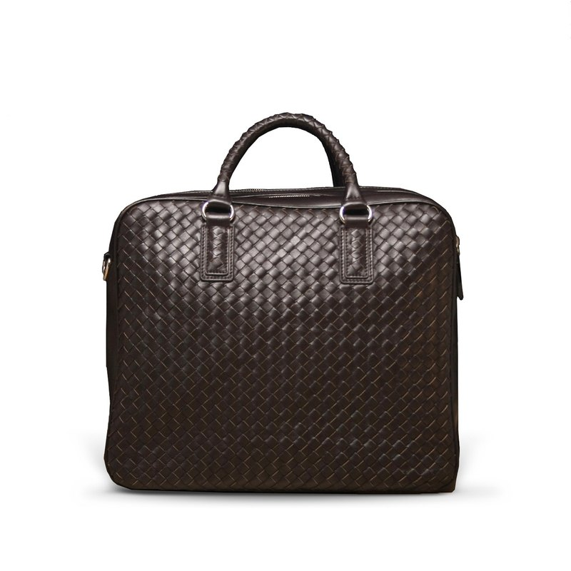 STORYLEATHER Spot Style 6031 woven briefcase