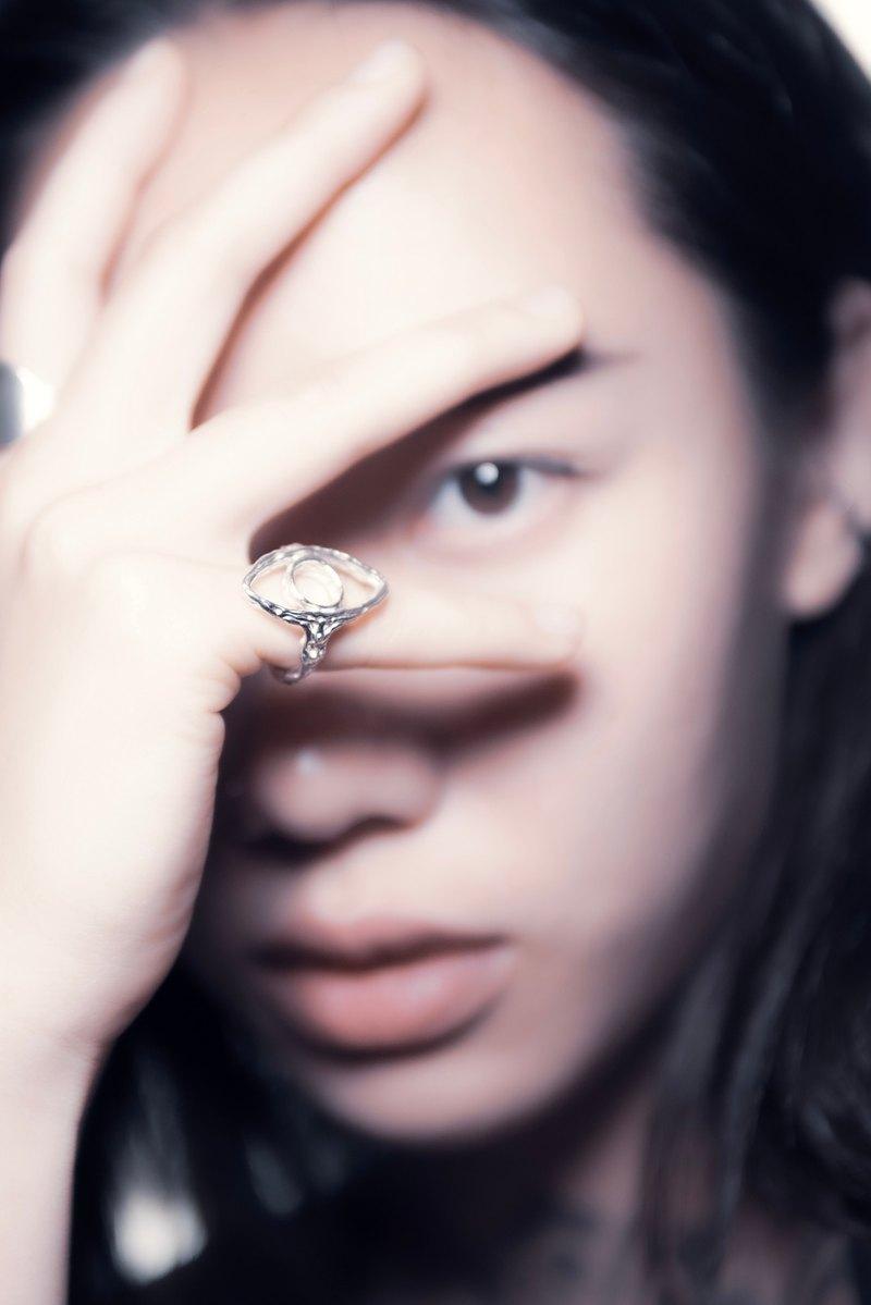 Único 系列 -  眼 925 純銀戒指