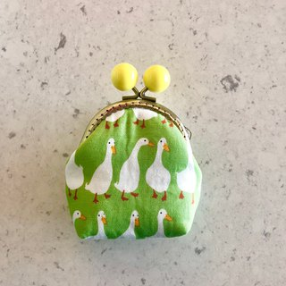 Little Rainbow Candy Gold Coin Purse - Green Goose