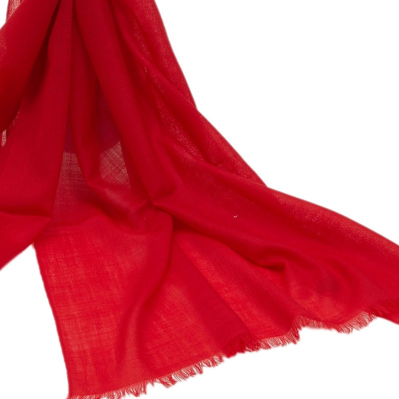 [] Rounuan Fashion Cute lambs wool scarf shawl (red)