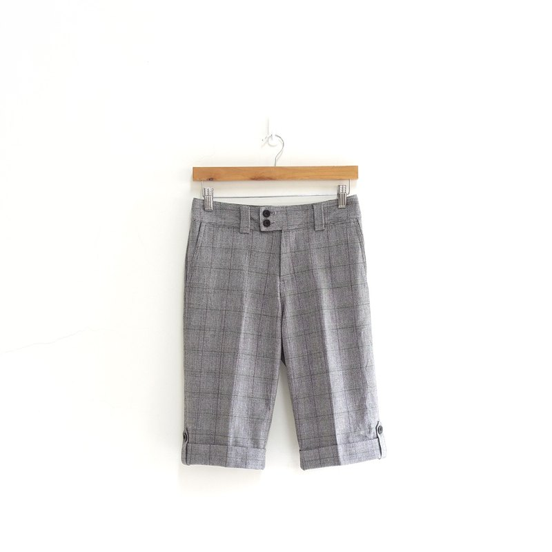 │Slowly│Gray Plaid - Vintage Pants │vintage. Vintage.