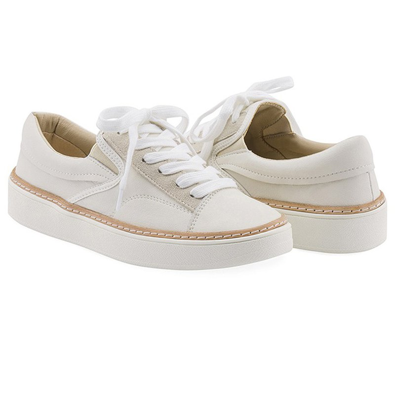 SPUR- CLLIB Grit Leather Sneakers OF4416 Ivory