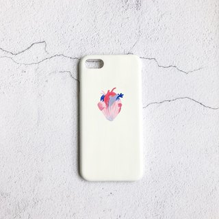 Careful liver heart hand-painted phone case IPHONE: HTC: SONY: SAMSUNG: ASUS: OPPO