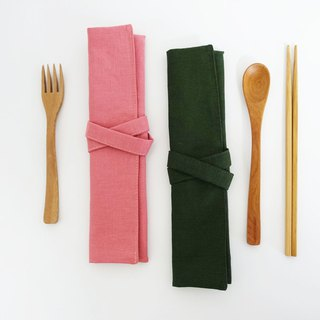 Environmentally friendly cutlery bag