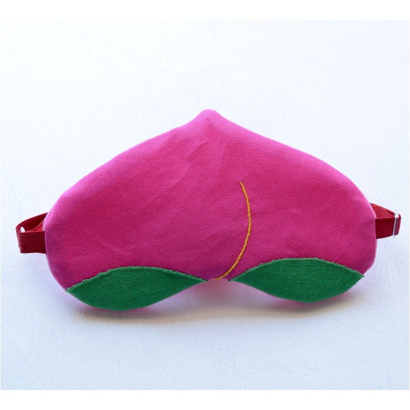 Tasty peach eye mask/travel/sleep mask/