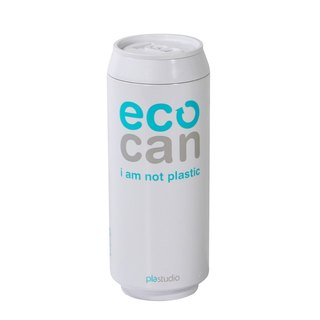 PLAStudio-ECO CAN-420ml-Made from Plant-White