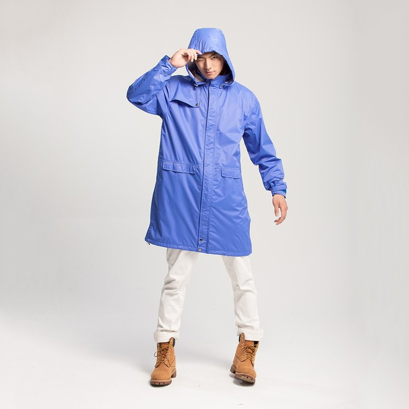 Waterproof Jacket + Extendable Shoecover Rain-pants