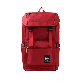 ROYAL ELASTICS - Modern Classic Backpack - Red