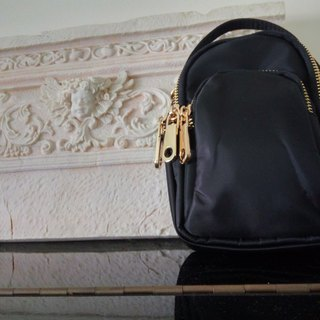 LaPoche Secrete: Best Supporting _ _ shoulder and hand dual-use _ lightweight accompanying bag _ black