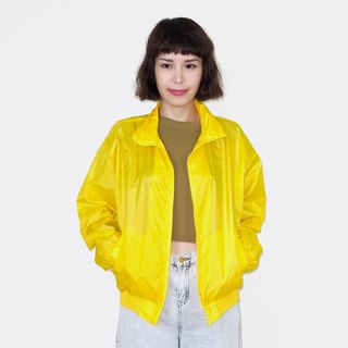Fluorescent yellow retro windproof vintage jacket BM3005