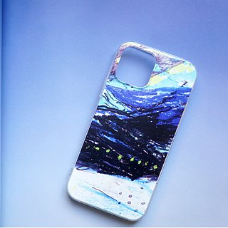 Deep sea light texture mobile phone shell full color printing soft shell iphone full range and various models custom