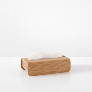 Wooden Tissue Box-OAK