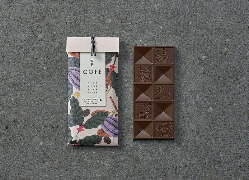 【COFE Bar 喫咖啡吧巧克力】嘉義阿里山/蜜處理