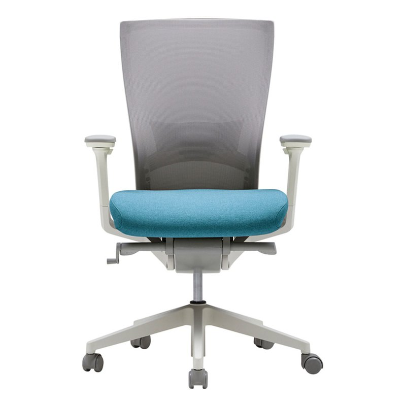 [iloom] i-Fit Fashion Aesthetics Office Chair (Sky Blue)