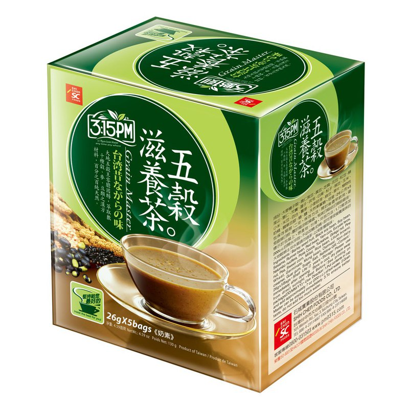 [3:1] Grain Nourishing Tea 5 In / Box