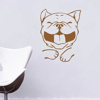 "Wall stickers - Taiwan creative traceless ""Smart Design"" smiling"