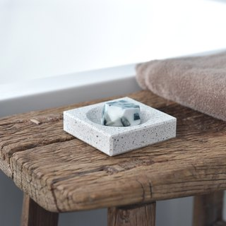 Terrazzo Bath Accessory Series_Soap Dish