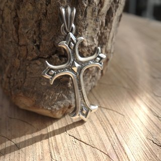 Silver - Light and Darkness - Cross Pendant