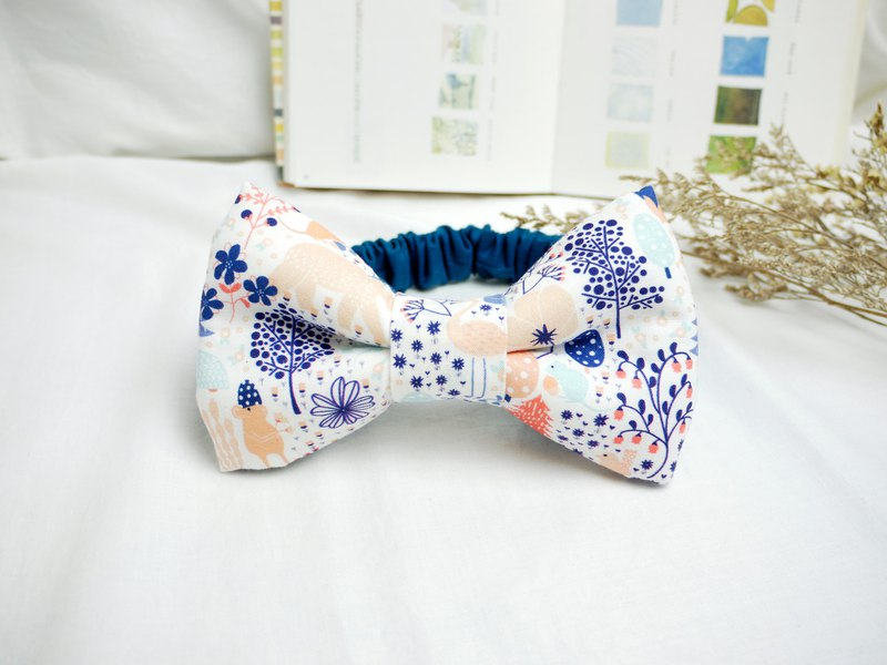 Baby Hairband Baby Hairband│Three-dimensional bow ::: Secret Forest