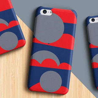 Mountain and sun Phone case