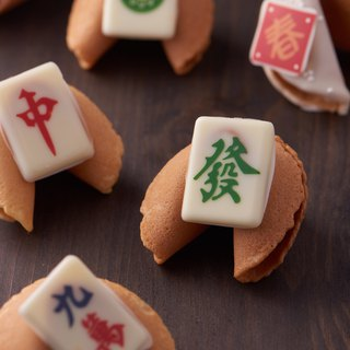 Mahjong Fortune Cookie Sparrow Biscuits Japanese Companion