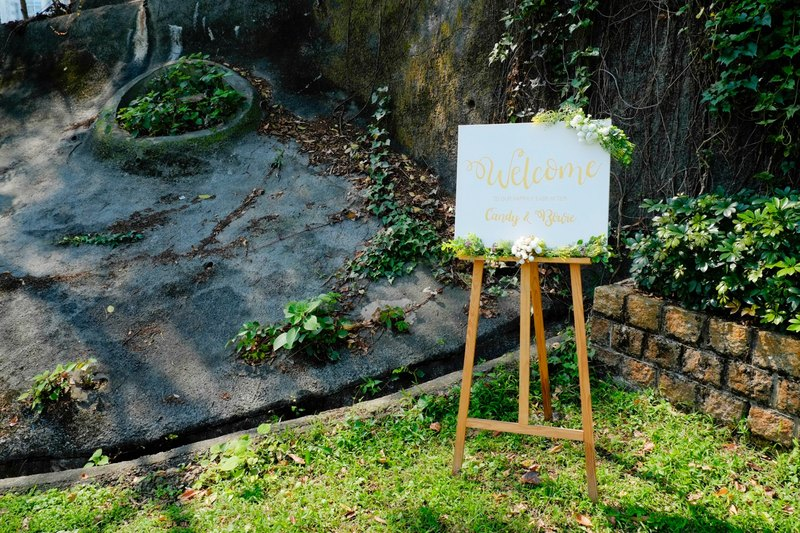 Wedding Welcome Sign on canvas, Customized with Your Wedding Details!