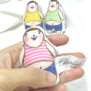 Fat Boy Lok Key chain MI I size – Stripe top