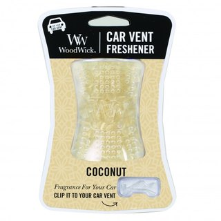 WoodWick  Car Vent Freshener-Coconut