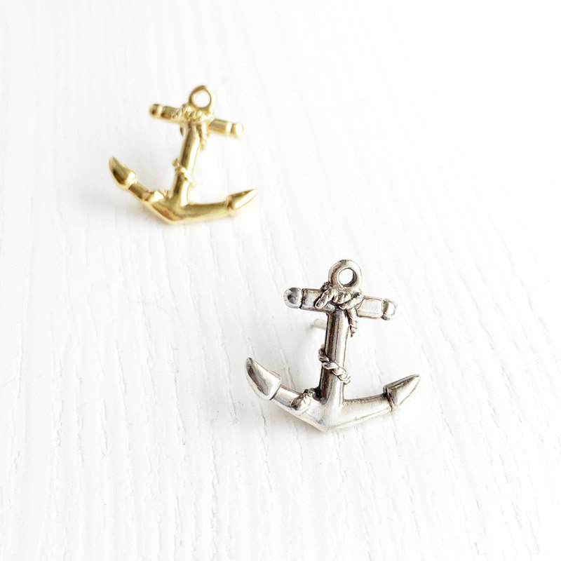 ANCHOR Anchor Series - Sterling Silver Brass Pins