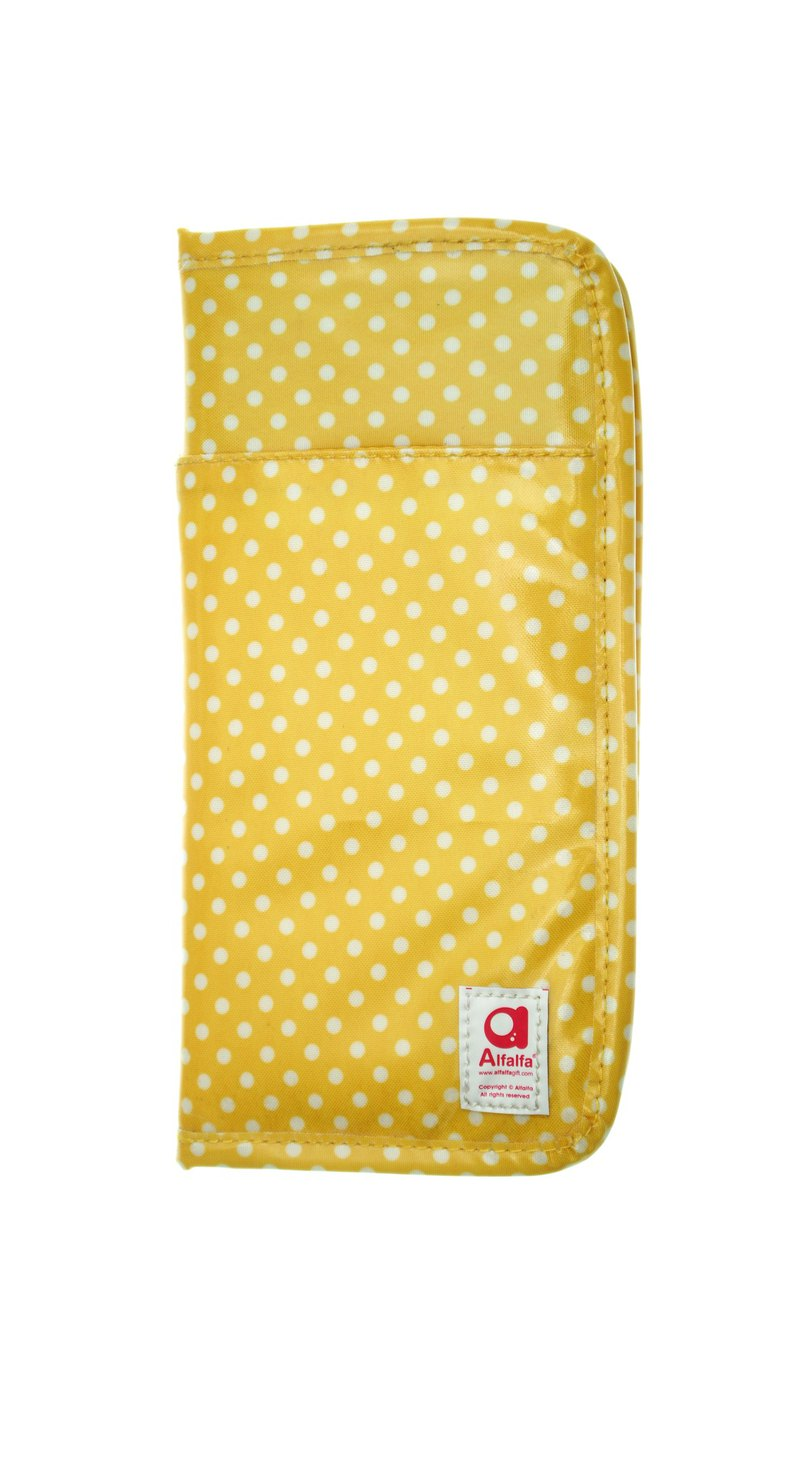 Mizutama All-in-one travel wallet - Yellow