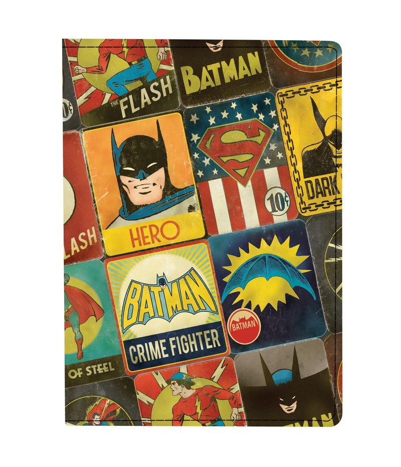 Mighty Passport Cover Passport Set - Justice League