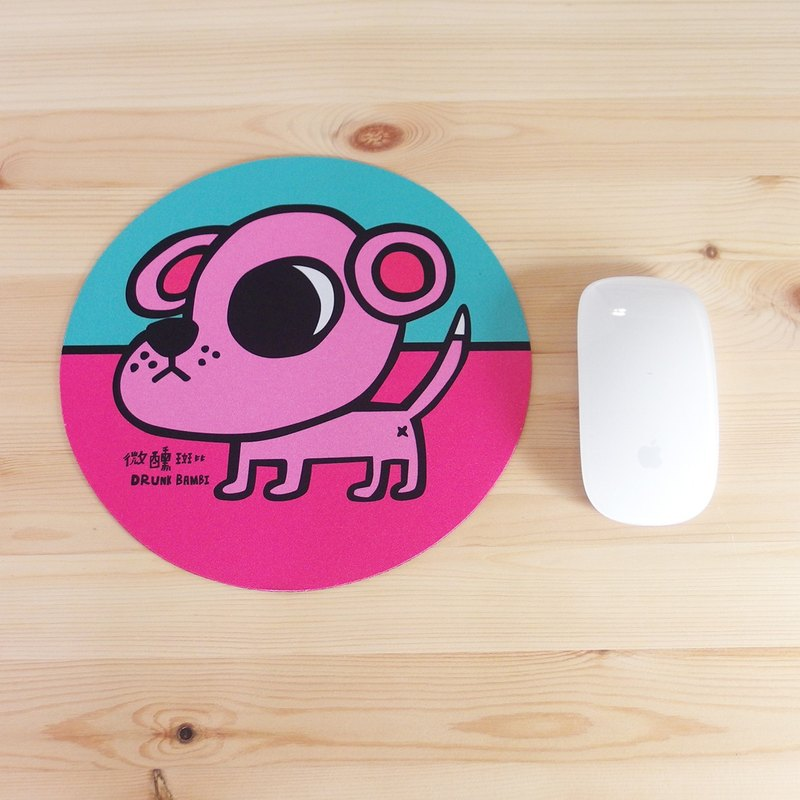 Mouse Pad / Pink Dog Doomee