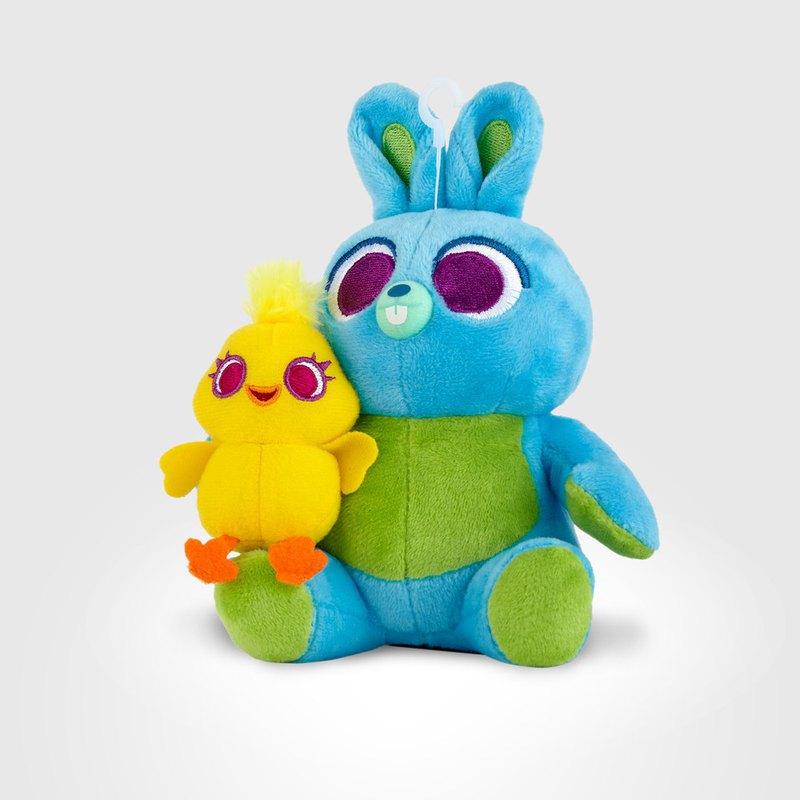InfoThink玩具總動員系列絨毛藍牙喇叭-鴨霸與兔崽子