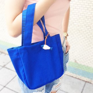 (Blue Ocean Fish) Bag / Handbag Organizer Eco Bag