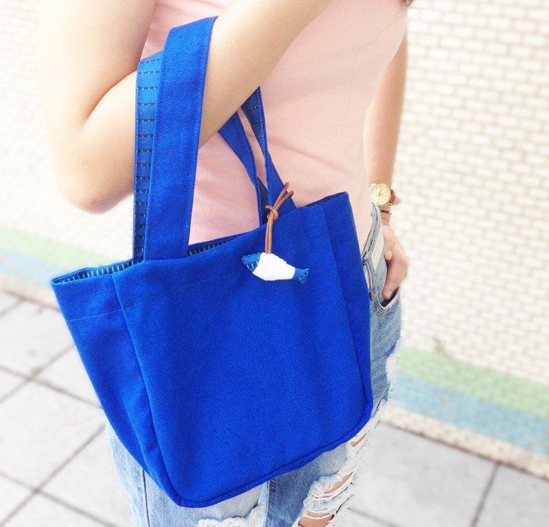 【藍海小魚】提袋 / 手提袋 收納袋 環保提袋