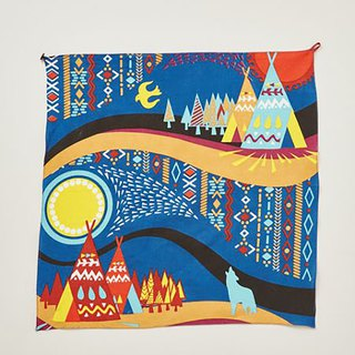 Pre-ordered moonlight in the night sky tablecloth/cloth (three colors) ISAP7387