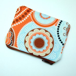 Zipper pouch / coin purse (padded) (ZS-263)