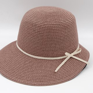 [Paper cloth home] Hepburn hat (grape purple) paper weave