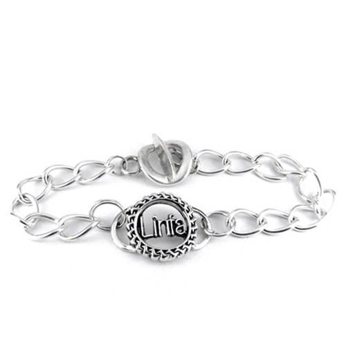 Customized .925 sterling silver jewelry designer BRD00001- Featured Bracelet