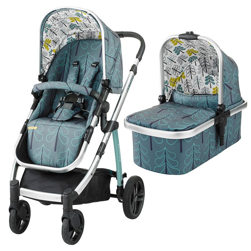 Cosatto wow pram and pushchair - Fjord