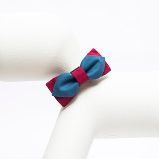 Hit the pet bow tie Orange Blinks burgundy - blue and green models S / L