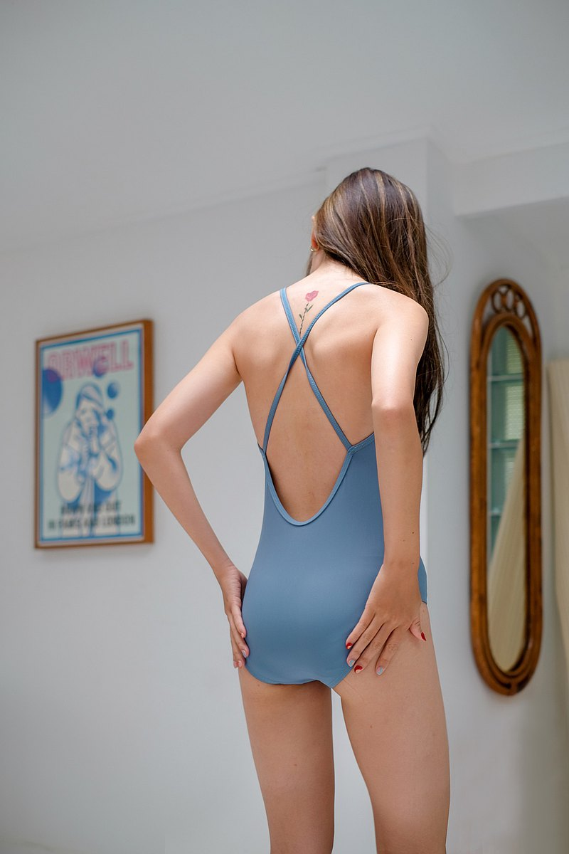 Crossback - Blue / Swimwear