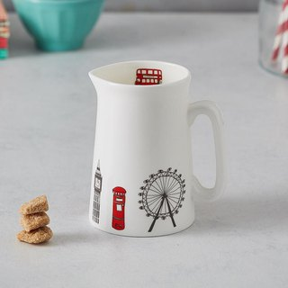 British Egg Milk Cup London skyline