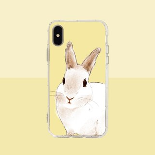Big face bunny embossed air shell - iPhone / Samsung, HTC.OPPO.ASUS / original pet phone case