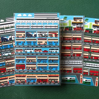Hongkong Transports Stickers, Kowloon 1981-1983
