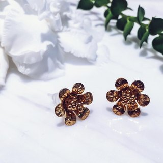 Blooming flower earrings | 暖春盛放-耳環